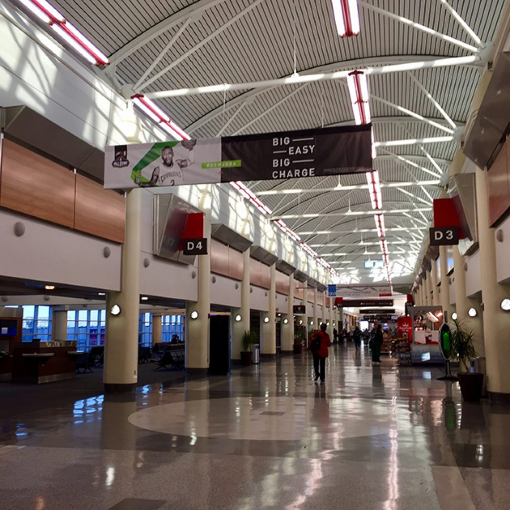 The Guild Garage >> Louis Armstrong New Orleans International Airport – Concourse D – Rufinos Painting & Construction